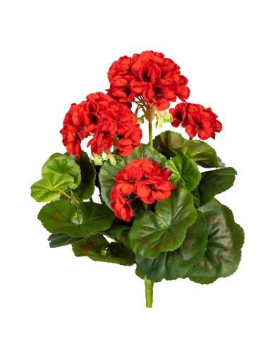 Geranienbusch, rot, ca. 32cm