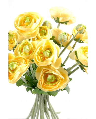 Künstliches Butterblume Bouquet, ca. 31cm - gelb