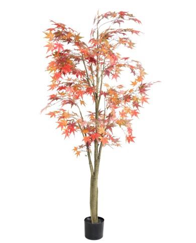 Künstlicher Wild Herbst Ahornbaum, ca. 175cm