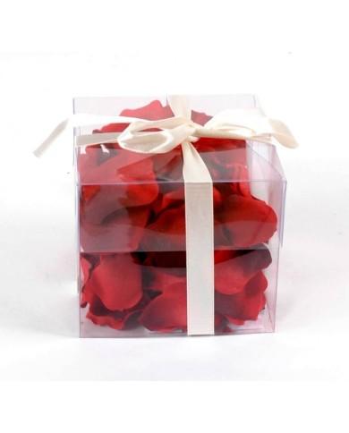 Künstliche Rosenblätter rot, ca. 4cm