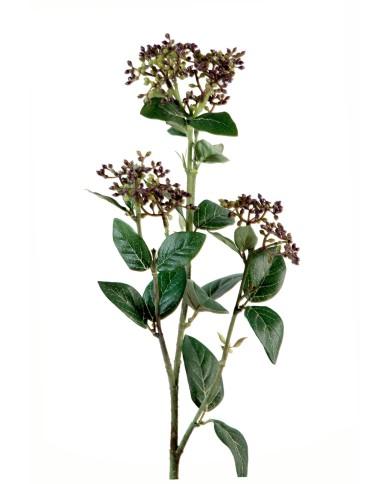 Künstlicher Schneeball violett-grün , ca. 80cm