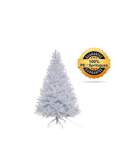 Künstlicher Tannenbaum, weiss, beschneit, Spritzguss, ca. 120cm