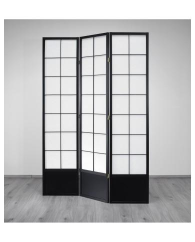 Paravent Hoshi XL Black 3 Trennwand, Paravents by Cilios®